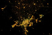 Cairo at night from space,ISS image