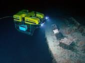 ROV exploration of Titanic