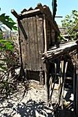 Outdoor toilet,Madagascar
