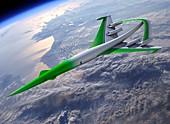 Supersonic Green Machine,artwork