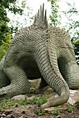 Crystal Palace dinosaur model