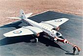 Met Office Canberra aircraft