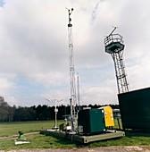 Mobile SAMOS weather station