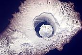 Onekotan Island,ISS photo