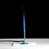 Bunsen burner flame