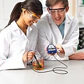 Digital pH measurement
