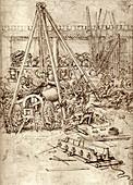 Leonardo's Cannon Foundry