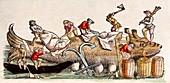 1560 Gesner Magnus medieval whaling