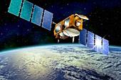 Jason-1 satellite,artwork