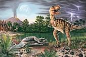 Cretaceous-Tertiary extinction event
