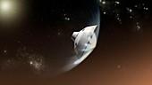 Mars Science Laboratory mission,artwork