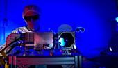 Mars Science Laboratory instrument
