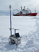 Antarctic research expedition
