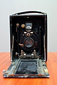Old style bellow camera