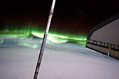 Southern Lights from the ISS,2011