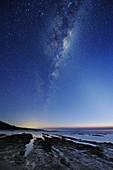 Milky Way over Cape Otway,Australia