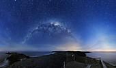 Milky Way over Phillip Island,Australia