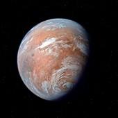 Terraformed Mars,artwork
