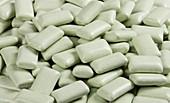 Microalgae chewing gum