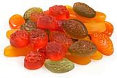 Microalgae sweets