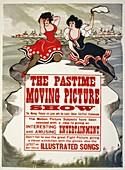 Kinetoscope film advert,1913