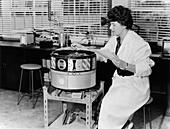 Ozone monitoring device,1962