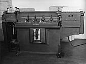 Met Office tabulating machine