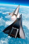 Saenger Horus spaceplane,artwork