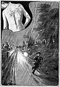 Lightning effects,early 20th century