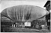 Woelfert's airship,19th century