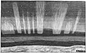 Aurora borealis,19th century