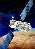 MTFF space station,artwork
