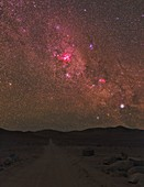 Atacama night sky