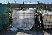 Abandoned chemical waste