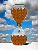 Overpopulation,conceptual artwork