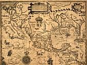 Spanish North America,1600