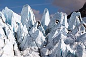 Glacial ice formations