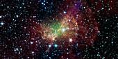 Dumbbell Nebula,infrared image