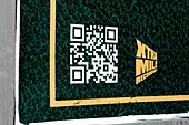 QR code on a poster
