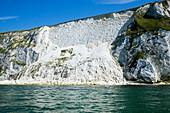 Chalk cliff collapse