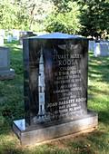 Grave of Stuart Roosa,NASA astronaut