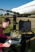 Satellite GPS equipment research
