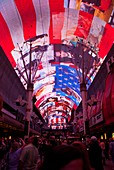 Freemont Street Experience LED screen