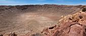 Meteor Crater panorama,Arizona