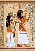 Ani and his wife Tut