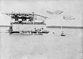 Langley Aerodrome test flight,1903