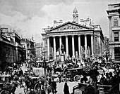 Royal Exchange,London,1880s