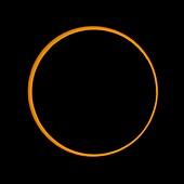 Annular solar eclipse,2005