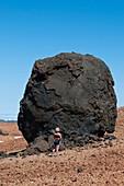 Volcanic 'egg',Canary Islands