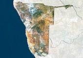Namibia,satellite image